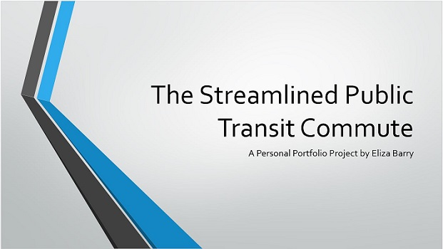 Streamlined commute preview
